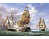Bitka francúzských fregat