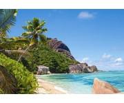 Tropická pláž, Seychely