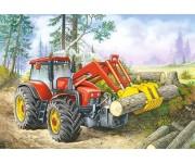 Traktor nakladač - DETSKÉ PUZZLE