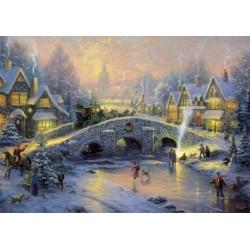 Dedinka v zime