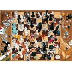 Šachy - TRIANGULAR PUZZLE