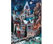 Hororový hrad - TRIANGULAR PUZZLE