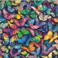 Motýle - PUZZLE s 3D efektom