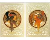 Alfons Mucha - 2 obrázky