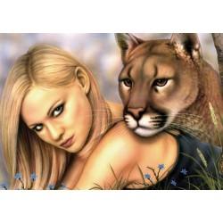 Kráska a puma