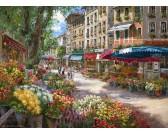 Kvetinový trh v Paríži