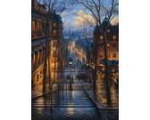 Ulička v Montmartre, Paríž