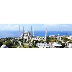 Modrá mešita, Istanbul - PANORAMATICKÉ PUZZLE