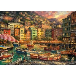 Prístav v Cinque Terre