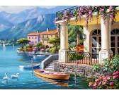 Vila u jazera