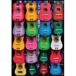 Farebné gitary