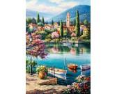 Popoludnie u jazera Como