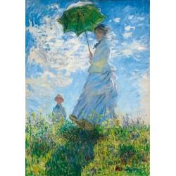 Žena so slnečníkom