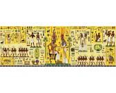 Egyptský hieroglyf - PANORAMATICKÉ PUZZLE