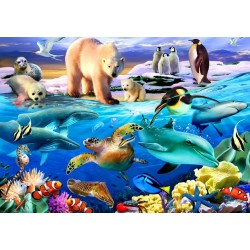 Život v oceáne - DETSKÉ PUZZLE