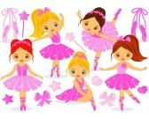 Malé baletky - DETSKÉ PUZZLE
