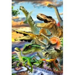 Dinosaury - DETSKÉ PUZZLE
