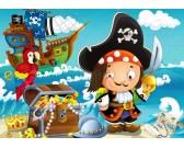 Pirátske dobrodružstvo - DETSKÉ PUZZLE