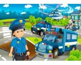 Polícia - DETSKÉ PUZZLE
