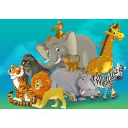 Safari - DETSKÉ PUZZLE