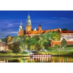 Wawel v noci, Poľsko