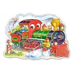 Veselá lokomotíva - MAXI PUZZLE