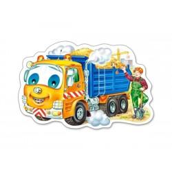 Auto s nákladom - DETSKÉ PUZZLE
