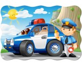 Policejné auto - MAXI PUZZLE