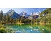 Majestátné hory - PANORAMATICKÉ PUZZLE