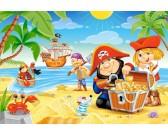Pirátske dobrodružstvo - MAXI PUZZLE