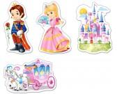 Svet princezien - DETSKÉ PUZZLE