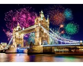 Tower Bridge v noci