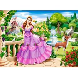 Princezná v kráľovskej záhrade - DETSKÉ PUZZLE