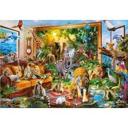 Živý obraz - džungľa