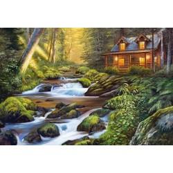 Domček pri rieke