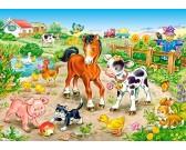 Na farme - DETSKÉ PUZZLE