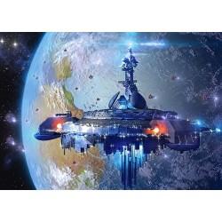 Mimozemská kozmická loď - DETSKÉ PUZZLE