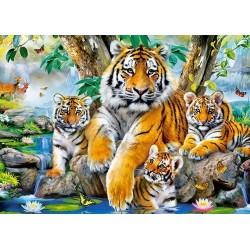 Tigre pri vodopáde - DETSKÉ PUZZLE