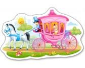 Kočiar s princeznou - DETSKÉ PUZZLE