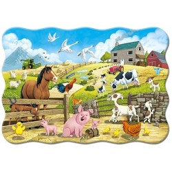 Zvieratká na farme - MAXI PUZZLE