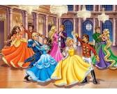 Princezné na plese - DETSKÉ PUZZLE