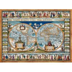 Mapa sveta z roku 1639