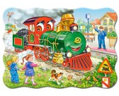 Zelená lokomotíva - DETSKÉ PUZZLE