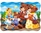 Medvedíky na vychádzke - DETSKÉ PUZZLE