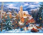 Vianočná atmosféra - DETSKÉ PUZZLE