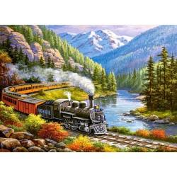 Vlak v údolí orlov - DETSKÉ PUZZLE