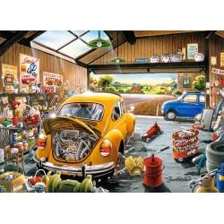Samova garáž - DETSKÉ PUZZLE
