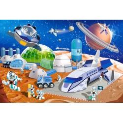 Vesmírná stanica - DETSKÉ PUZZLE