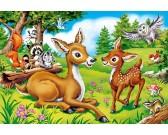 Malý jelenček - DETSKÉ PUZZLE
