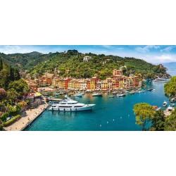 Pohľad na Portofino - PANORAMATICKÉ PUZZLE